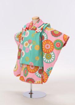 七五三の衣装(3歳・女の子)
