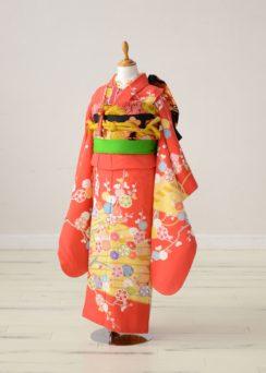 七五三の衣装(7歳・女の子)